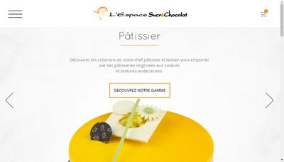 Site internet de L'Espace Sucrechocolat