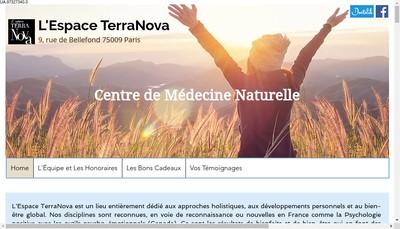 Site internet de L'Espace Terranova
