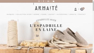 Site internet de SARL Armaite