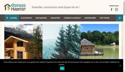 Site internet de Espass Habitat