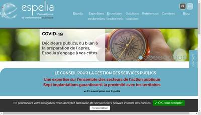 Site internet de Espelia