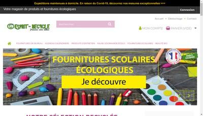 Site internet de Recyclez-Moi