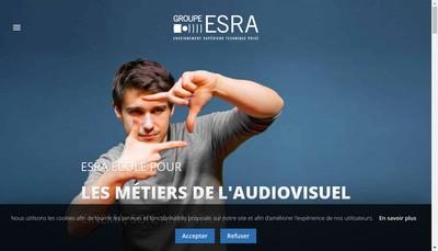Site internet de Groupe Esra Cote d'Azur