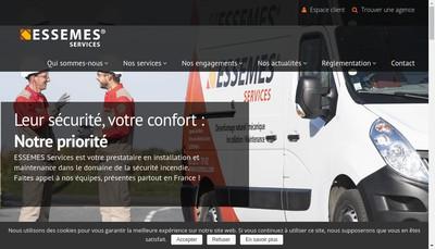 Site internet de Essemes Services