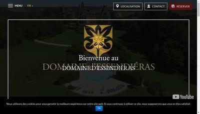 Site internet de Domaine d'Essendieras