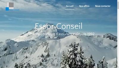 Site internet de Essor Conseil