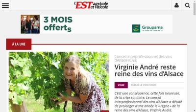 Site internet de Societe Edition et Publicite Agricole Est