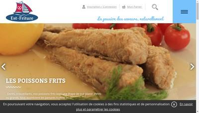 Site internet de Est Friture