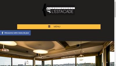 Site internet de L'Estacade