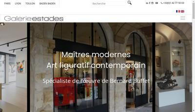 Site internet de Galerie Michel Estades