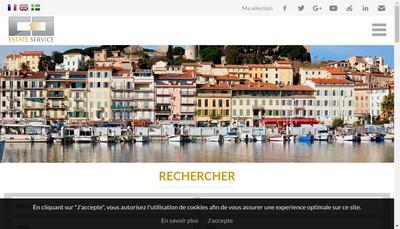 Site internet de Estate Service
