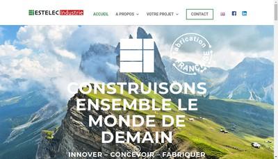 Site internet de Estelec Industrie