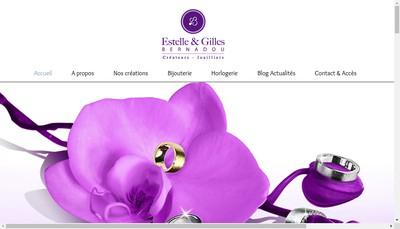 Site internet de Estelle & Gilles Bernadou