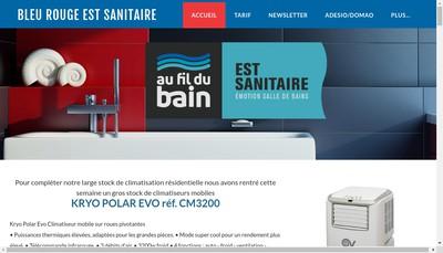Site internet de Est Sanitaire