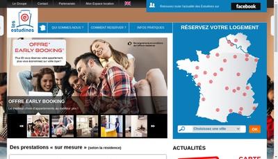 Site internet de Residences Services Gestion