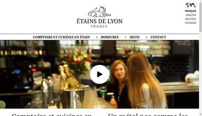Site internet de Les Etains de Lyon