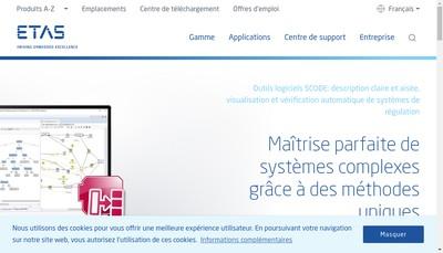 Site internet de Etas SAS