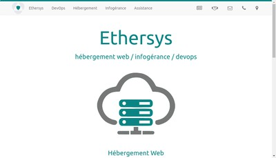 Site internet de Ethersys