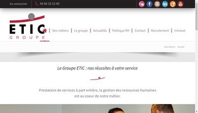 Site internet de Vocal - Tech