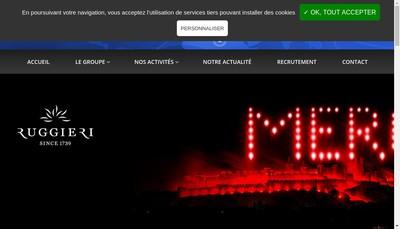 Site internet de Societe Etienne Lacroix Tous Artifices