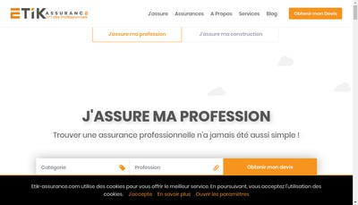 Site internet de ETIK