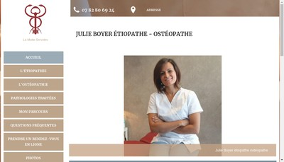 Site internet de Julie Boyer
