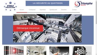 Site internet de Etoile Protection