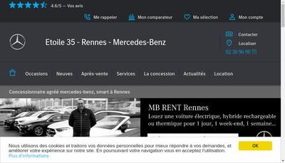 Site internet de Etoile 35