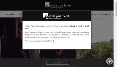 Site internet de Societe Etoile Park Hotel