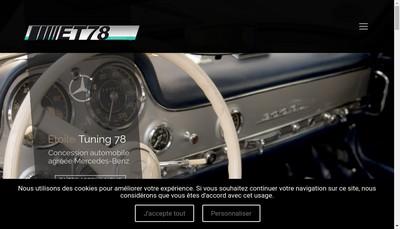 Site internet de Etoile Tuning 78