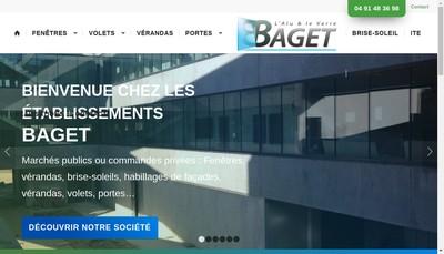 Site internet de Societe d'Exploitation des Etablissements Baget