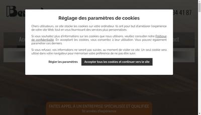 Site internet de Bernecker Decor