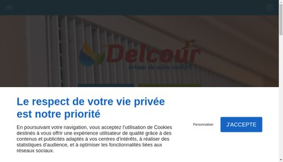 Site internet de Etablissements Delcour SARL