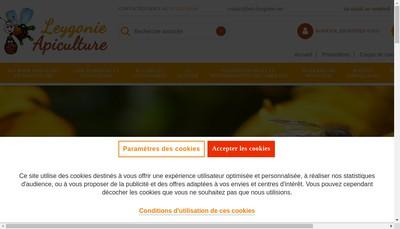 Site internet de Apiculture Leygonie - Etablissements Leygonie