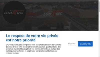 Site internet de Etablissements Louriac