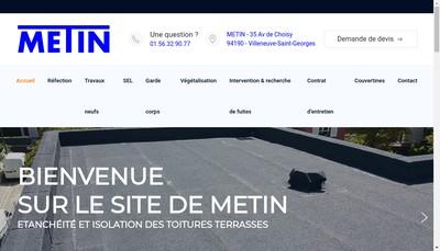 Site internet de Metin