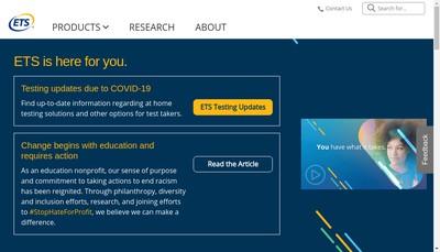 Site internet de ETS