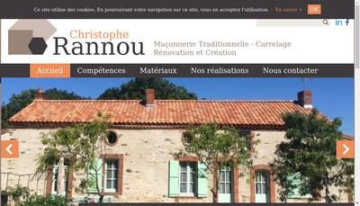 Site internet de Rannou Christophe