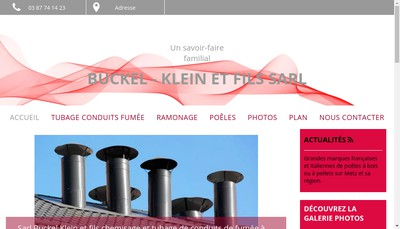 Site internet de Buckel Klein et Fils