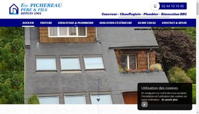Site internet de Etablissements Pichereau Pere et Fils