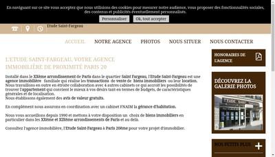 Site internet de Etude Saint-Fargeau