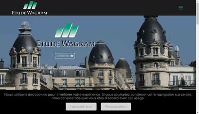 Site internet de Etude Wagram