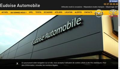 Site internet de Eudoise Automobile
