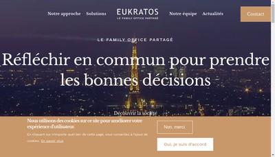 Site internet de Eukratos