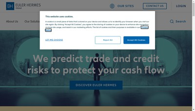 Site internet de Euler Hermes Group