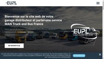 Site internet de EUPL