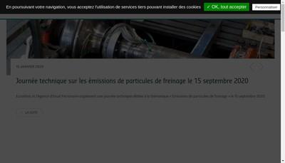 Site internet de Eurailtest