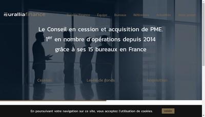 Site internet de Eurallia France