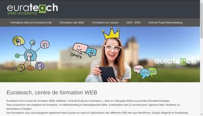 Site internet de Eurateach