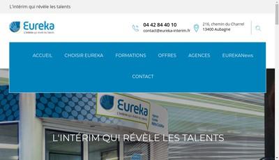 Site internet de Eureka Competences